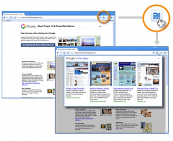 Google Similar Pages pour Chrome