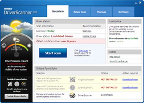DriverScanner 2011