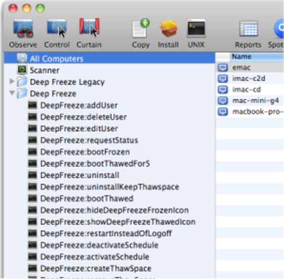 Deep Freeze (Mac OS X)