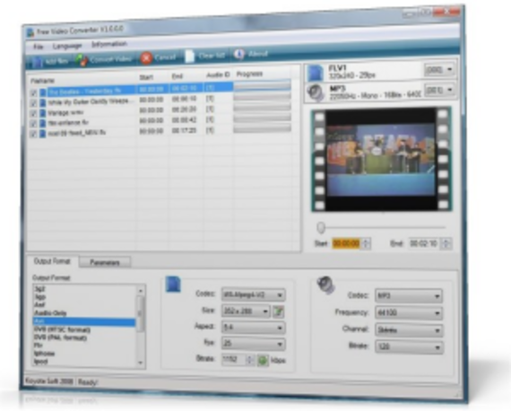 Free Video Converter (Version 2.9)