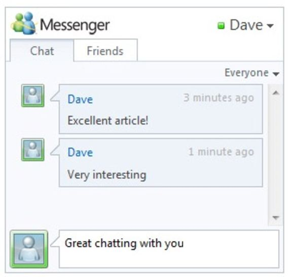 Windows Live Messenger Connect