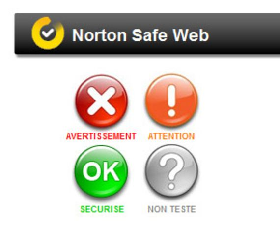 Norton Safe Web pour Facebook