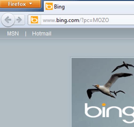 Firefox Bing