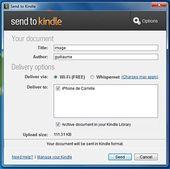 Send To Kindle Amazon