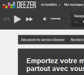 Deezer pour Chrome