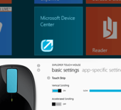 Microsoft Device Center pour Windows 8