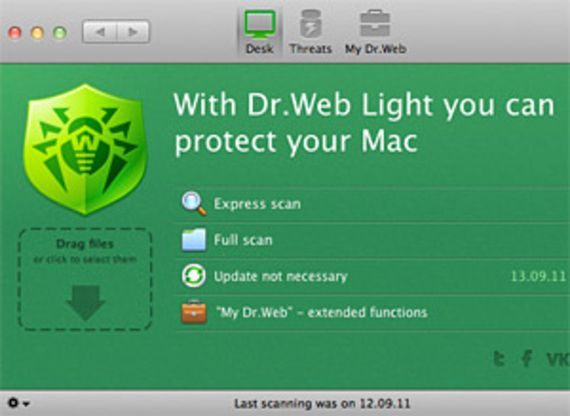 Dr.Web Light pour Mac OS X