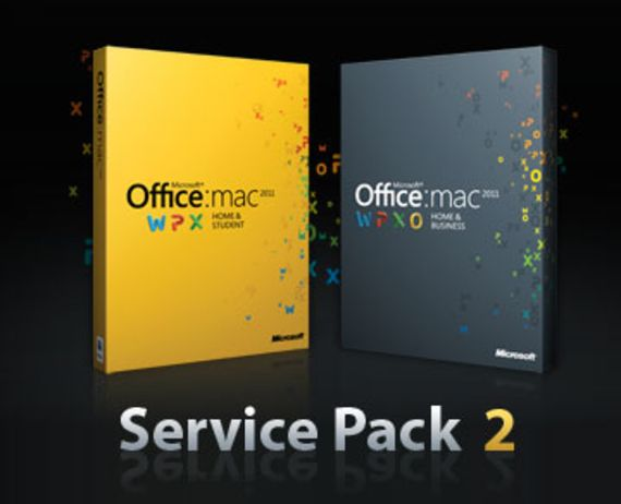 Office Mac 2011 Service Pack 2