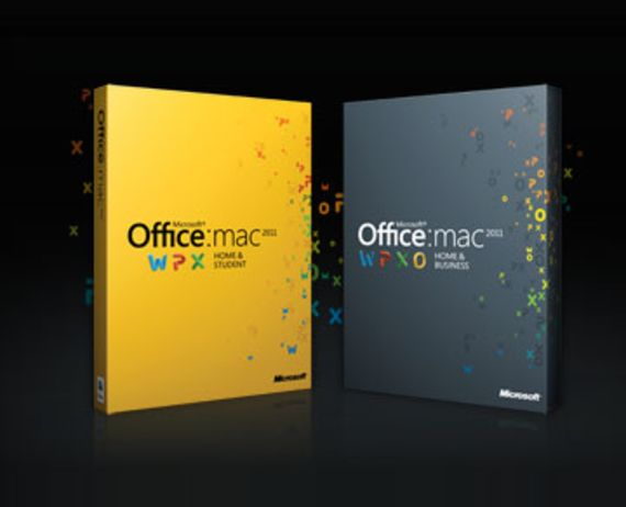 Microsoft Office pour Mac 2011