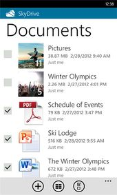 Skydrive Windows Phone