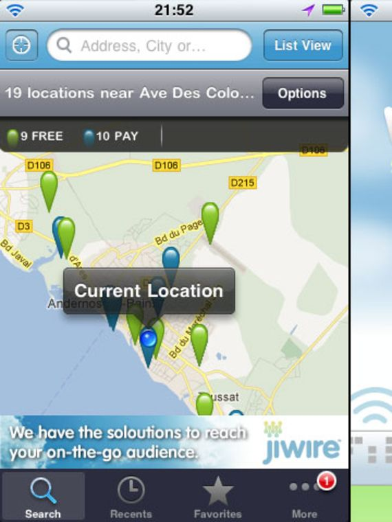 Wifi Finder iOS