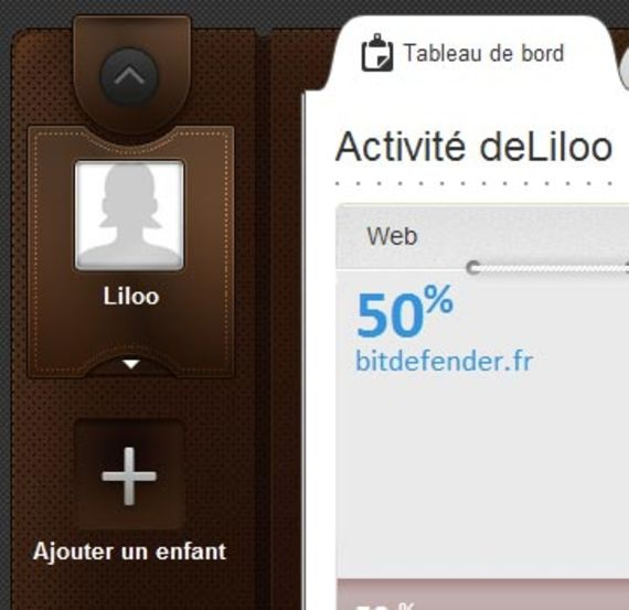 Bidefender Contrôle parental (Windows)