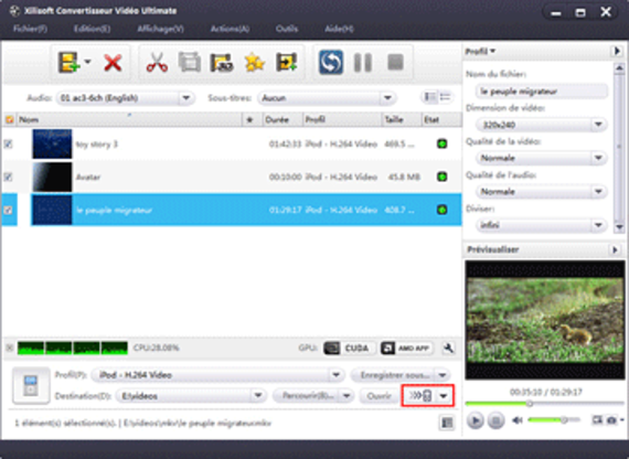 Xilisoft Convertisseur Vidéo