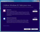 Assistant de mise à niveau Windows 8.1