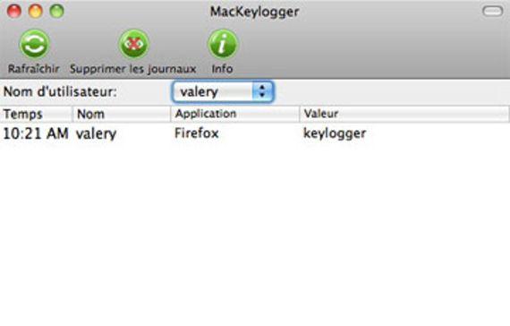 MacKeylogger