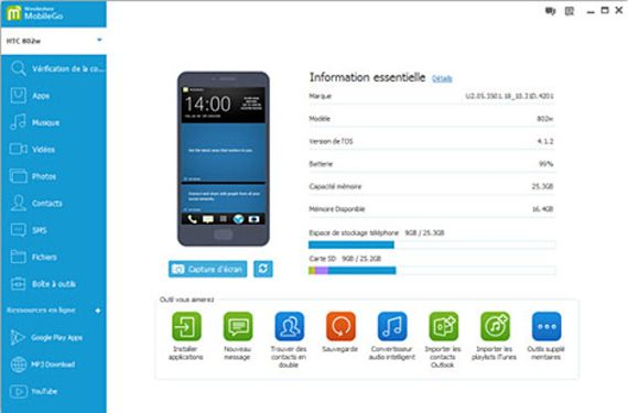 MobileGo pour Android