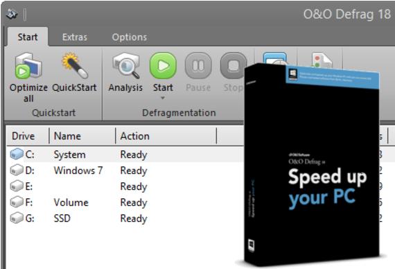 O&O Defrag Professional Edition 64 bits