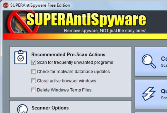 SUPERAntiSpyware Free