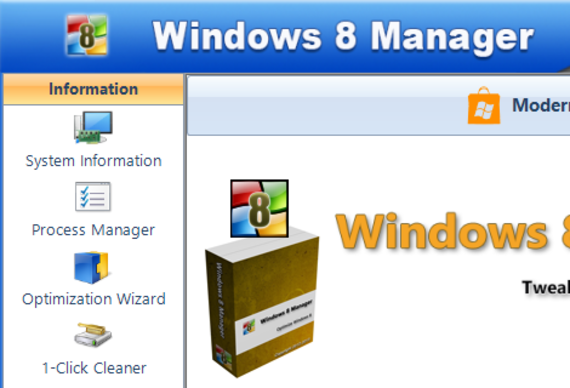 Windows 8 Manager (Version 2.2.x)