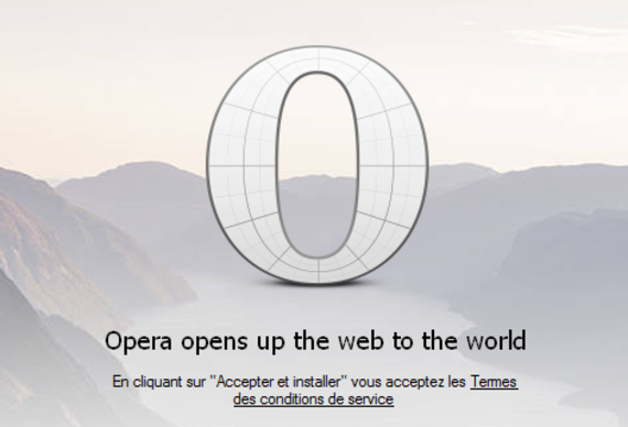 Opera beta (Windows)