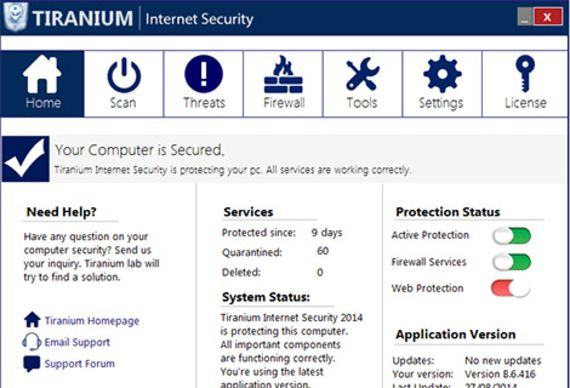 Tiranium Internet Security