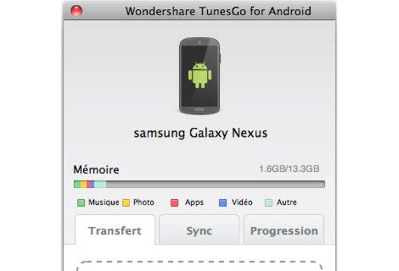TunesGo pour Android et Mac