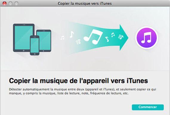 TunesGo pour Mac OS