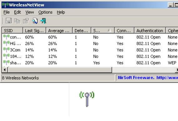 WirelessNetView