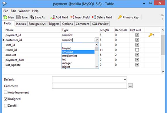 Navicat Premium pour Windows