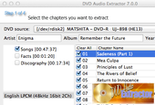 DVD Audio Extractor pour Mac OS X