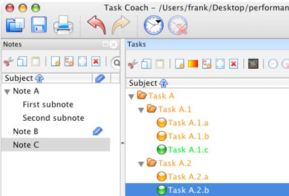 Task Coach (Mac OS X)