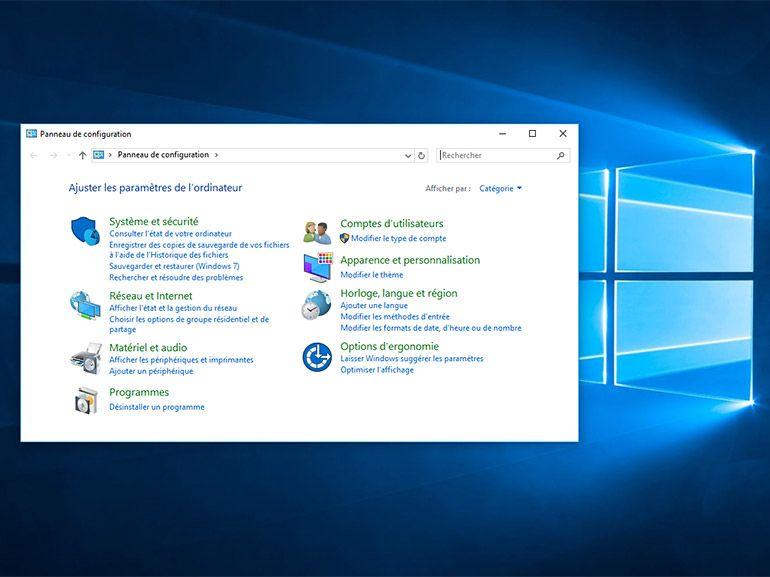 Windows 10 : la fin du panneau de configuration en 2017 ?