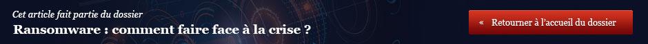 Ransomware : comment faire face à la crise ?