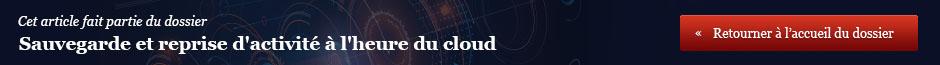Quelles stratégies de sauvegarde à l'heure du cloud ?