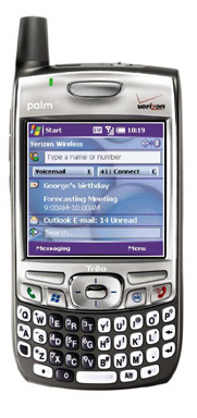 Palm Treo 700w Verizon Wireless
