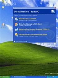 Windows XP Tablet PC Edition incorpore de nombreux didacticiels.