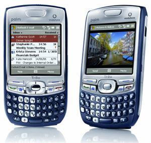 Le smartphone Palm Treo 750v, désormais compatible Windows Mobile 6.