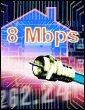 Le très haut débit à 8 Mbps passe par le câble