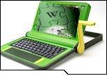 """Wikipédia bientôt embarquée sur """"le PC à 100 dollars"""""""