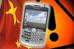 Le terminal BlackBerry enfin autorisé à la vente en Chine