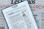 Livre électronique: le quotidien Les Echos lance son offre baptisée e-paper