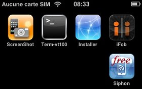 Interface iPhone