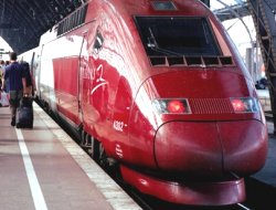 Le train Thalys