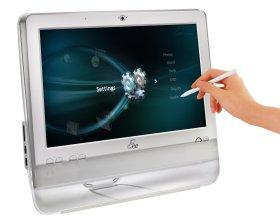 L'EeeTop d'Asus, PC de bureau tout intégré à écran tactile
