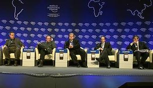 Conférence au Forum de Davos 2009