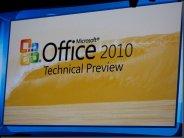 Premières images d�Office 2010 et Office Web Apps