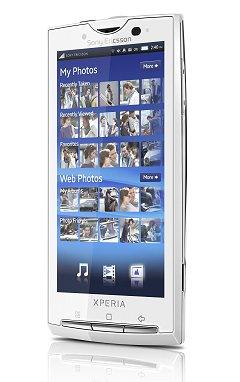 Smartphone X10 de Sony Ericsson