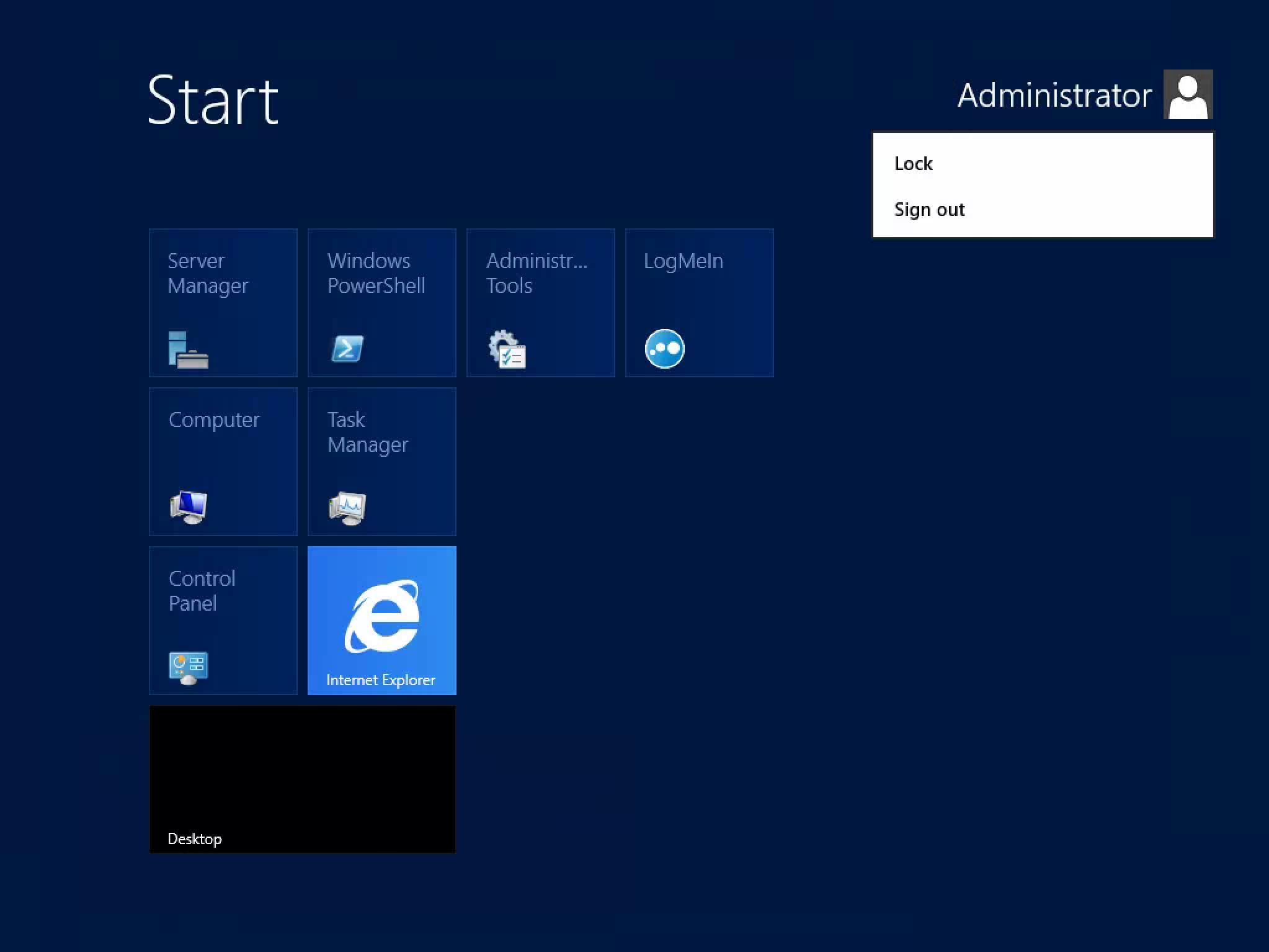Ecran Démarrer de Windows Server 2012 : comment trouver ses ...
