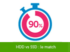 HDD versus SSD : le match