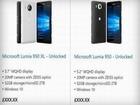Oups ! Microsoft dévoile les Lumia 950 et 950 XL, par erreur